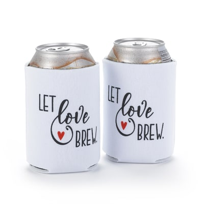Let Love Brew - Can Coolers