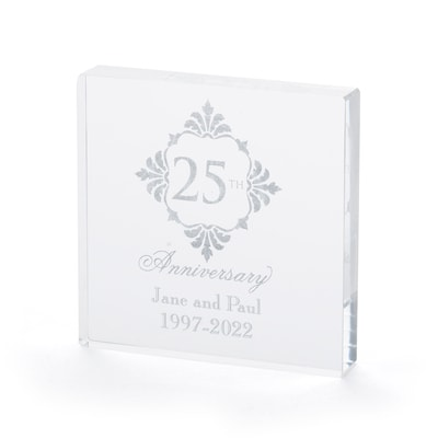Silver Anniversary - Cake Top