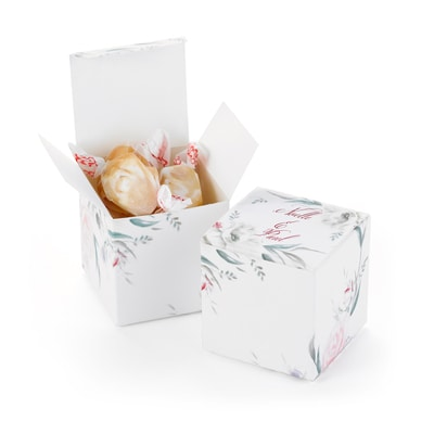 Ethereal Floral - Favor Box - Personalized