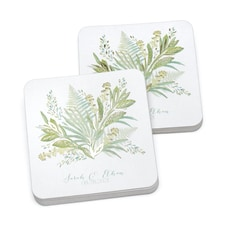 Greenery Coaster - Personalized