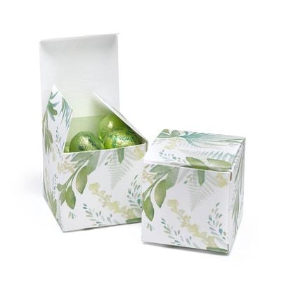 Greenery Favor Box - Blank