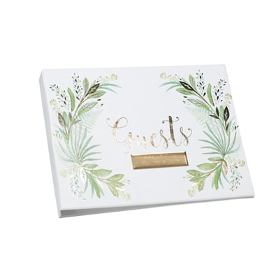 Greenery Guest Book