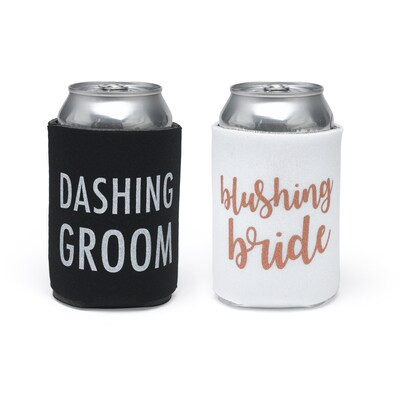 Dashing Couple Can Coolers