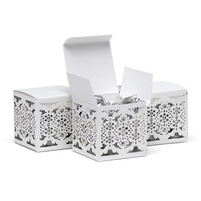 Lace Laser Cut Favor Box