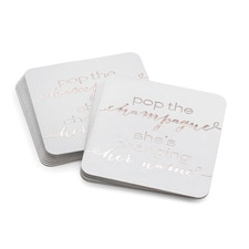 Pop the Champagne - Coasters