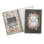 Chalkboard Floral Journal - Blank
