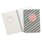 Bright Stripes Journal - Personalized