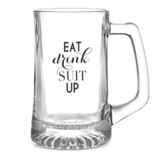 Eat, Drink, Suit Up - Mug