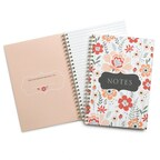 Floral Journal - Blank