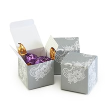 Lace Favor Box - Blank