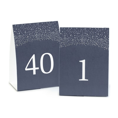 table number tents navy table numbers carlson craft wedding