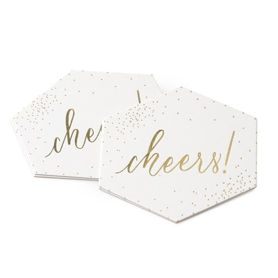 Cheers Confetti - Coasters