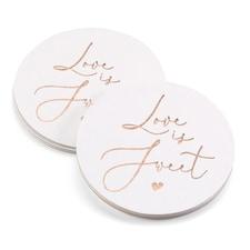 Love is Sweet - Coasters