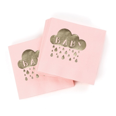 Baby Shower - Napkins - Blush