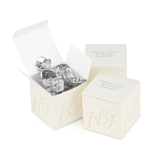 Fifty Years Anniversary - Favor Box - Personalized
