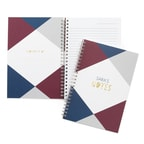 Geo Color Block Journal - Personalized