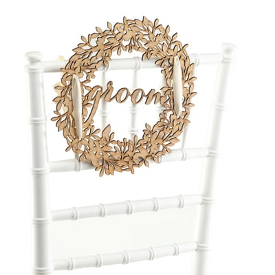 Groom - Wood Sign