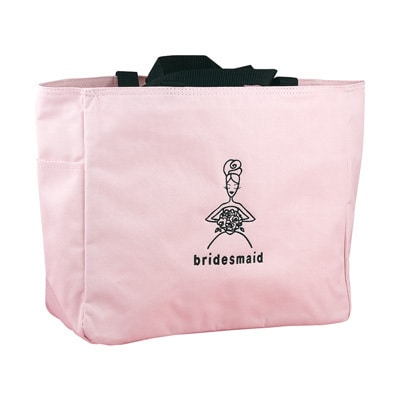Wedding Party Pink Tote Bags - Bridesmaid
