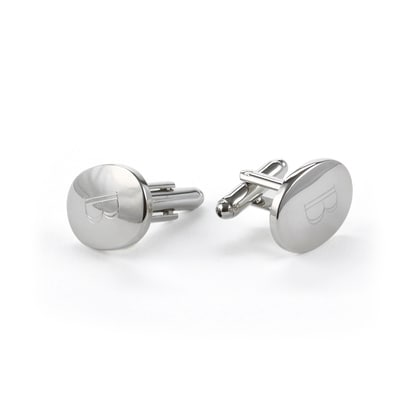 Custom Oval Cuff Links