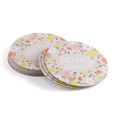 Botanical Bridal Shower - Coasters