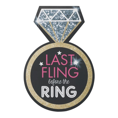 Last Fling - Repositionable Cling