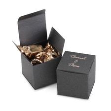 Square Favor Box - Personalized