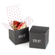 Mr. and Mr. with Hearts Box - Blank