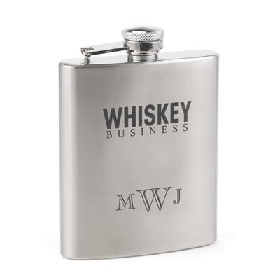 Whiskey Business - Flask