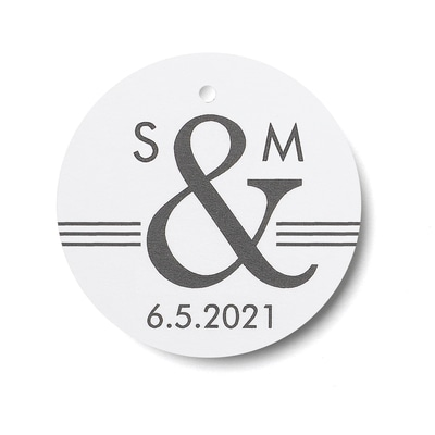 Ampersand - Favor Tags