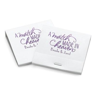 A Match Made in Heaven - Matchbooks