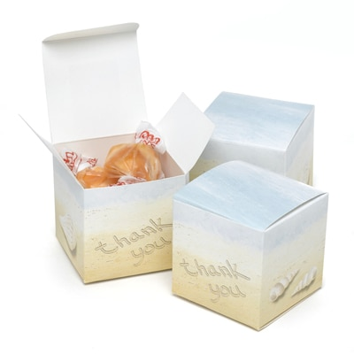 Seaside Jewels Favor Boxes - Blank