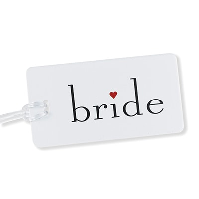 Luggage Tag - Bride with Heart