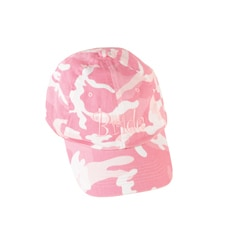 Pink Camouflage Cap