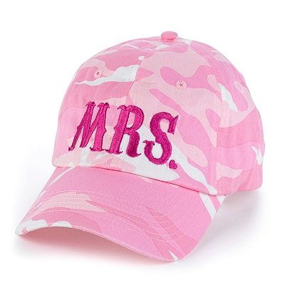 Mrs. Pink - Camouflage Cap