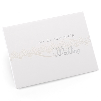 Pearlescent Wedding Album - Daughter