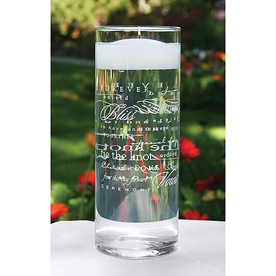 Wedding Words Cylinder