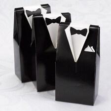 Black Tuxedo Favor Boxes