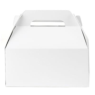 Large Gable Box - White