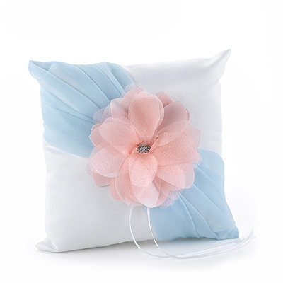 Pretty Pastels Ring Pillow