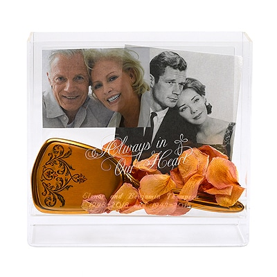 Always in Our Heart - Memorial Box Frame