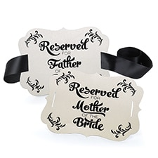 Reserved Chair Decoration - Parents of the Bride