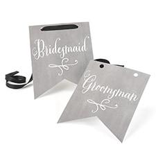 Charming Vintage - Signs - Bridesmaid & Groomsman