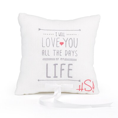I Will - Ring Pillow