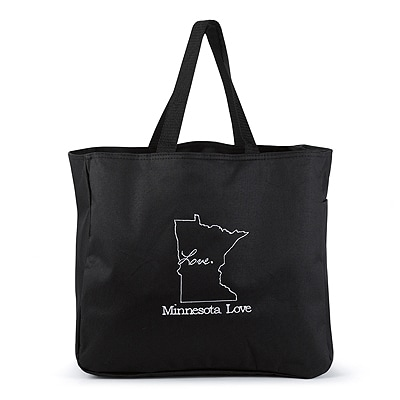 State of Bliss Tote Bag - Black