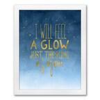 Night Stars Art Print - Design Only - Framed