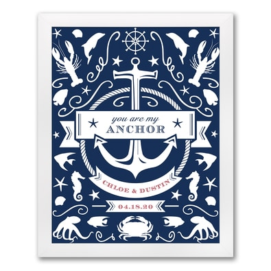 Nautical - Art Print - Framed