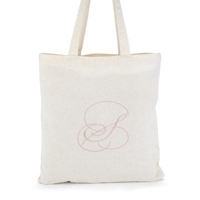 Monogram Initial - Tote Bag