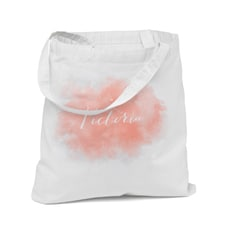Custom Watercolor Tote Bag