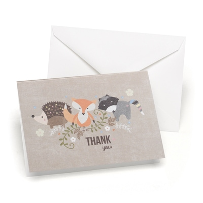 Woodland Animals Thank You