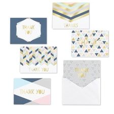 Geo Shapes - Thank You Set